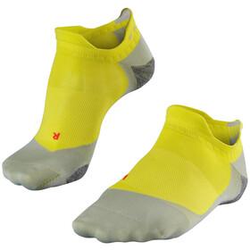 Falke RU 5 Invisible Skarpetki Mężczyźni, żółty/szary